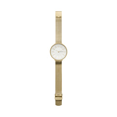 Karolina Gold-Tone Silk-Mesh Watch