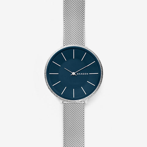 Karolina Silk Mesh Watch