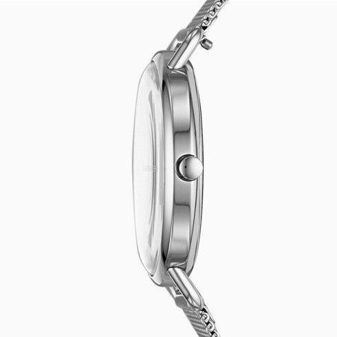 Horizont Special-Edition Genuine Diamond Steel-Mesh Watch