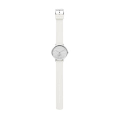 Aaren Kulør White Silicone 36mm Watch
