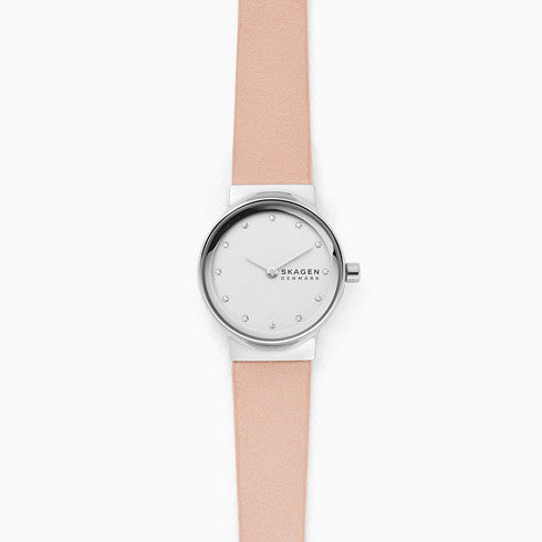 Freja Blush Leather Watch