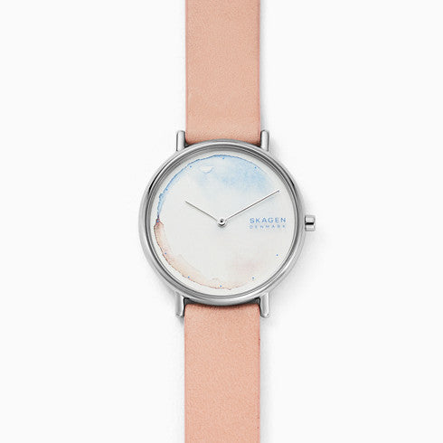 Signatur Blush Leather Watch