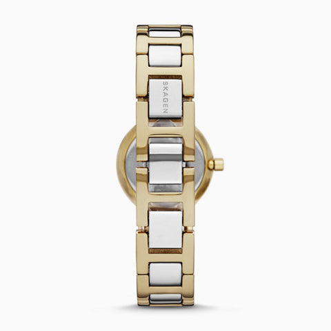 Freja Two Tone Steel Link Watch