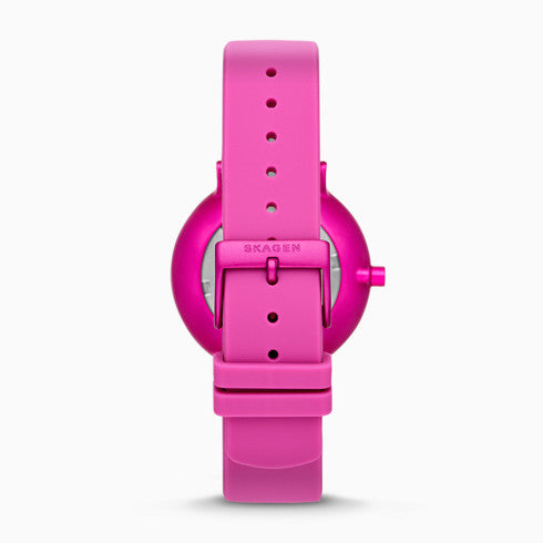 Aaren Kulor Pink Silicone 36mm Watch