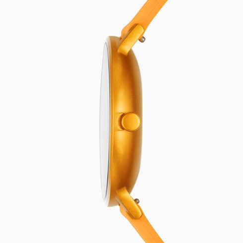 【NEW size】Aaren Kulor Yellow Silicone 36mm Watch