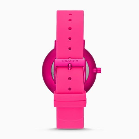 Aaren Kulor Pink Tie Dye 36mm Silicone Watch