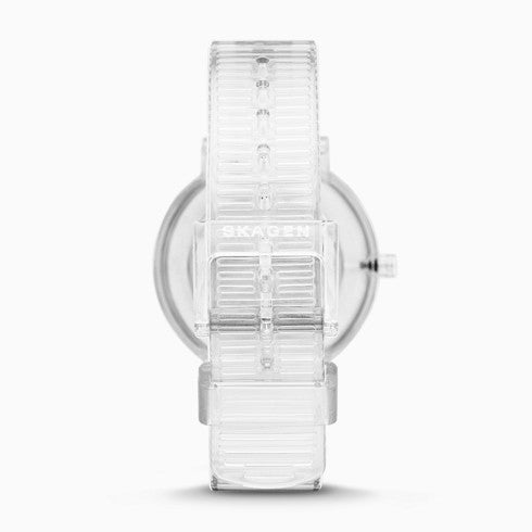 Aaren Transparent Three Hand Clear 36mm Watch