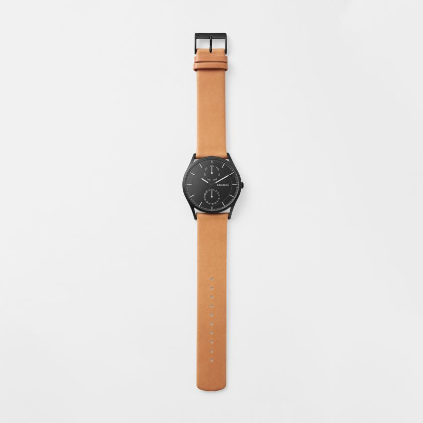 Holst Multifunction Leather Watch