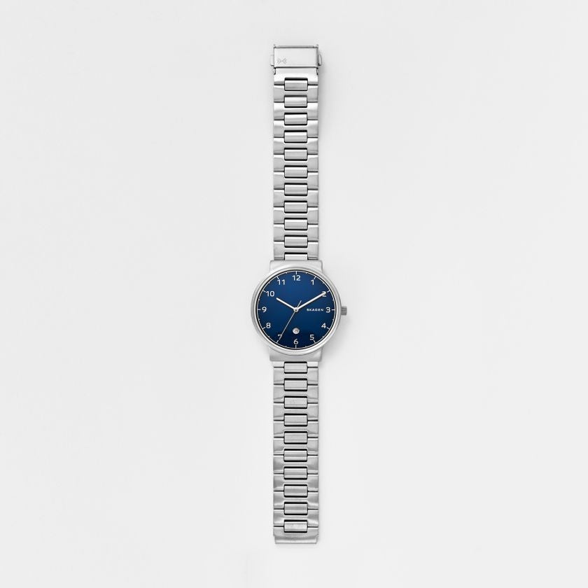 Ancher Steel Link Watch