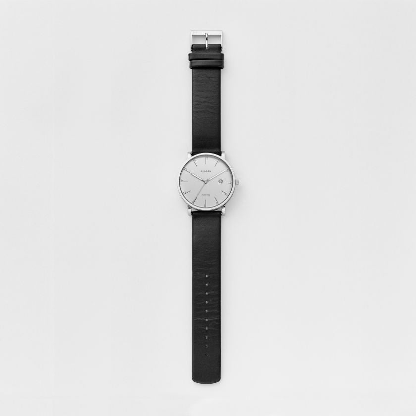 Hagen Automatic Leather Watch