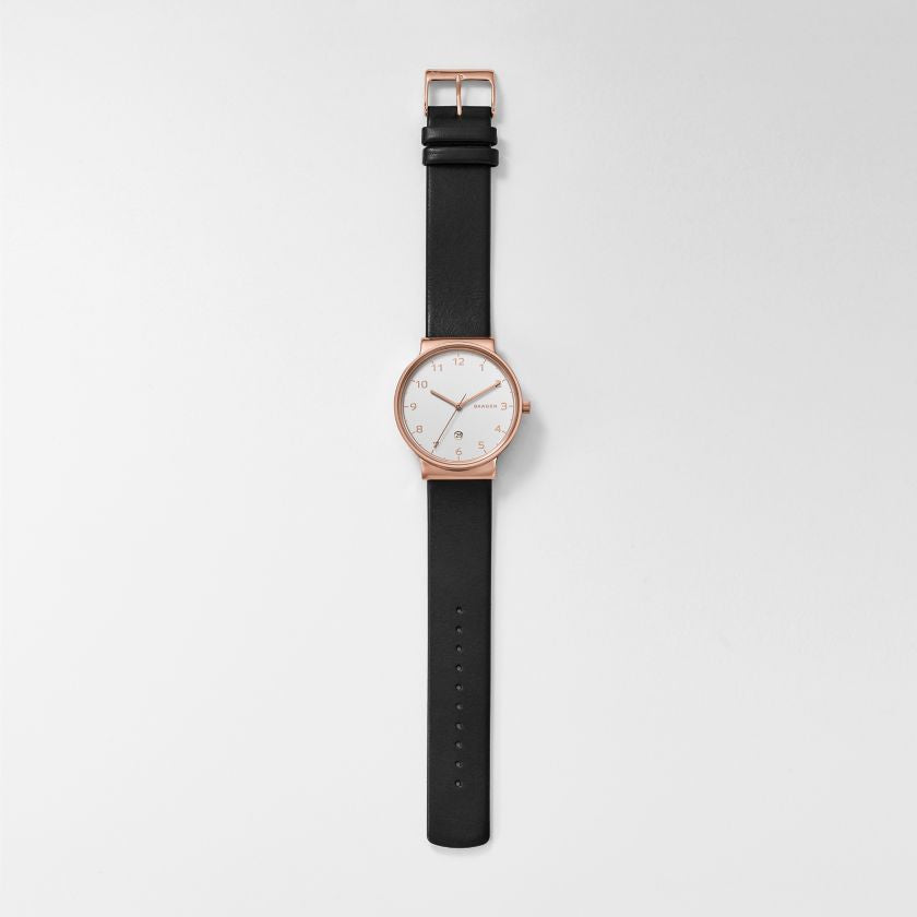 Ancher Leather Watch