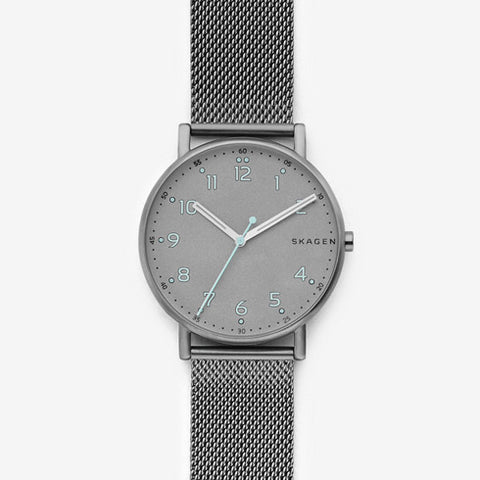 Signatur Titanium and Steel-Mesh Watch