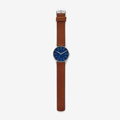 Signatur Brown Leather Watch