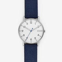 Signatur Blue Nylon Watch
