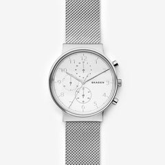 Ancher Steel-Mesh Chronograph