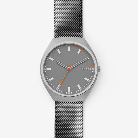 Grenen Steel-Mesh Watch