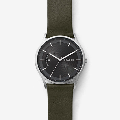 Holst Leather Multifunction Watch