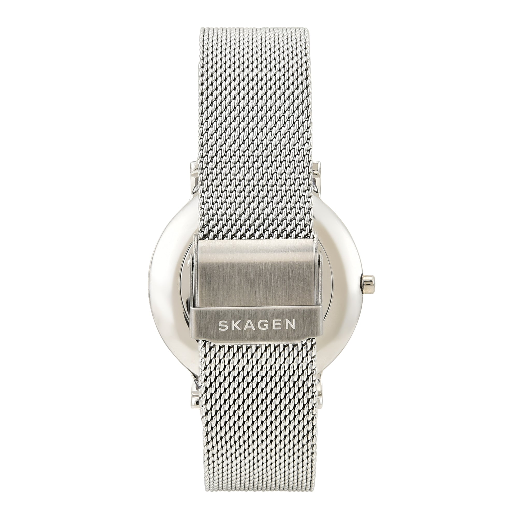 Hagen Slim Steel Mesh Watch