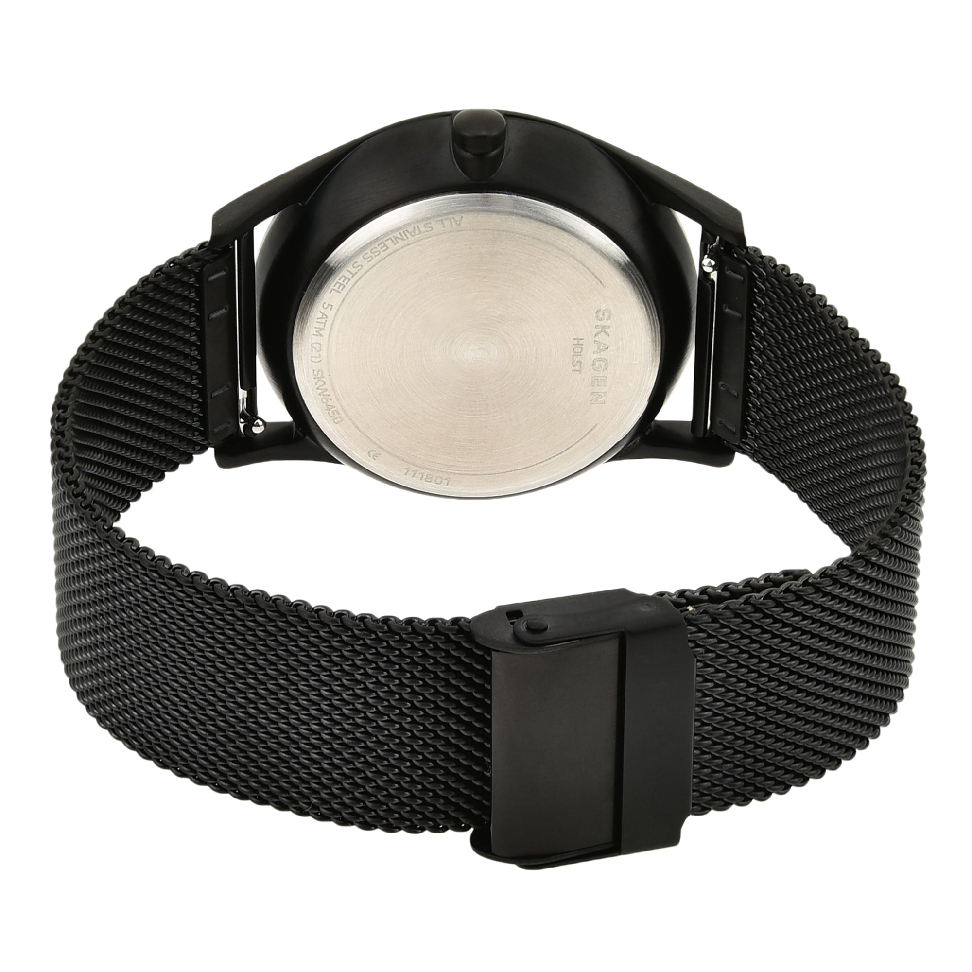 Holst Black Steel Mesh Multifunction