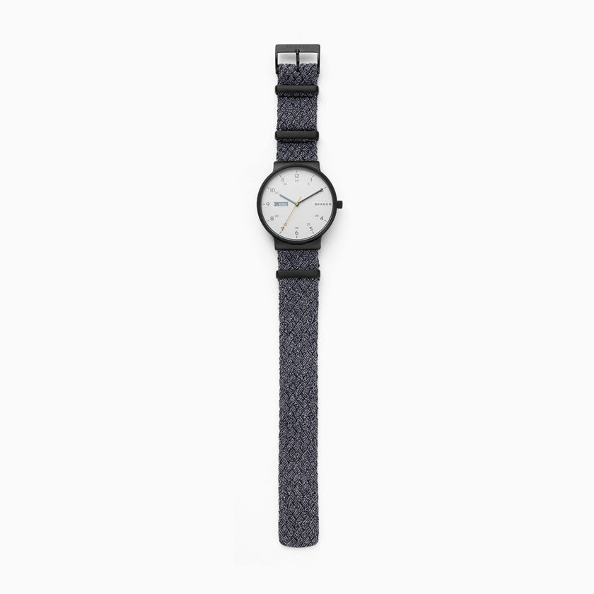 Ancher Gray NATO Day Date Watch
