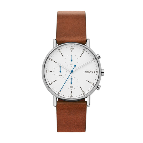 Signatur Brown Leather Chronograph