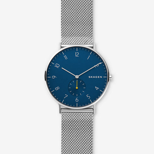 Aaren Steel Mesh Watch