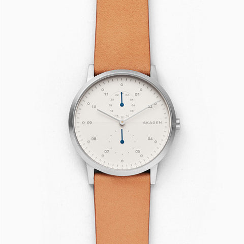 Kristoffer Brown Leather Watch