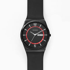Melbye Black Silicone Watch