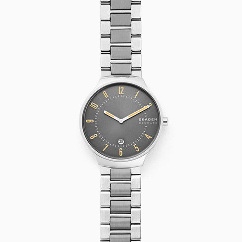 Grenen Slim Two Tone Steel Link Watch
