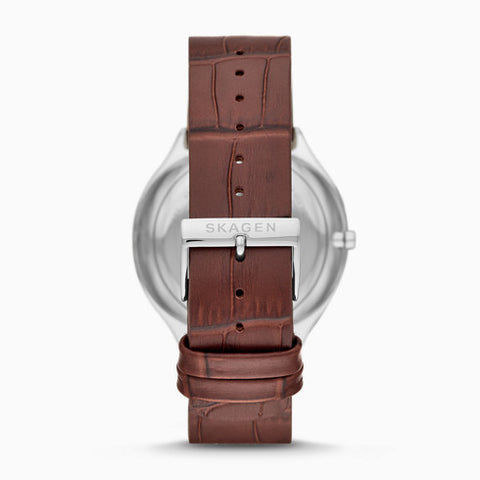 Grenen Brown Leather Multifunction Watch