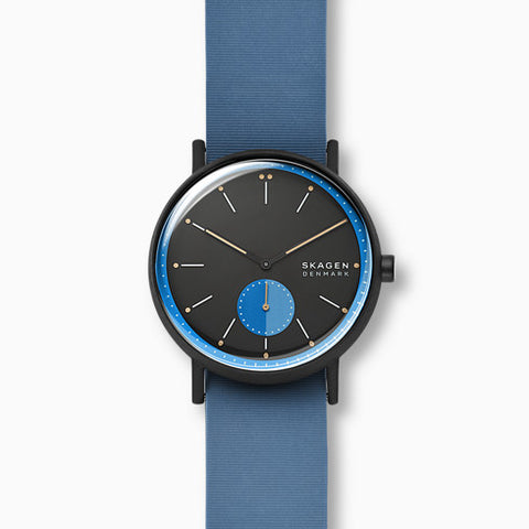 Signatur Blue Silicone Field Watch