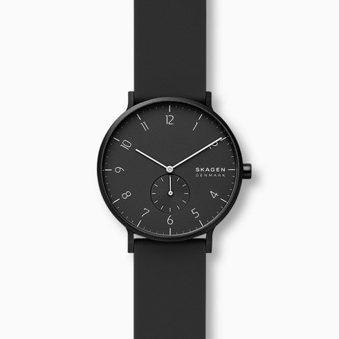 Aaren Kulor Black Silicone 41mm Watch