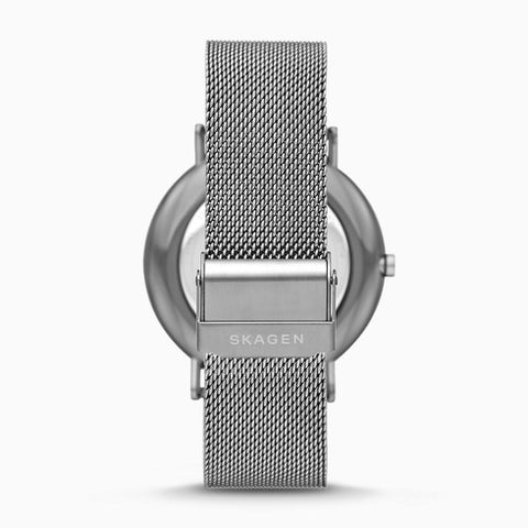 Signatur Gunmetal Steel Mesh Watch