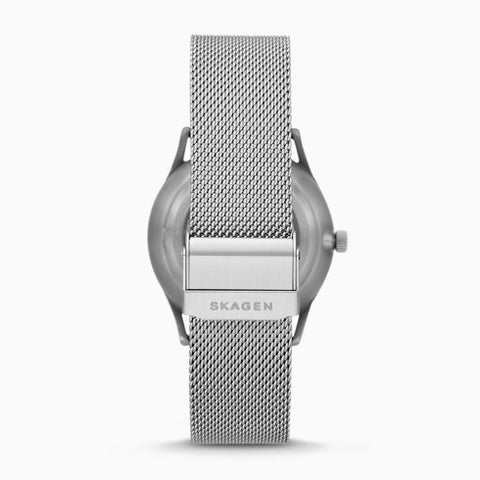 Holst Automatic Silver Tone Steel Mesh Watch