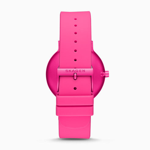 Aaren Kulor Pink Tie Dye Silicone 41mm Watch