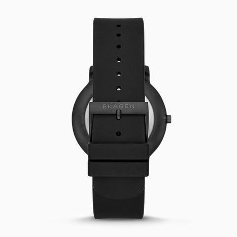 Colden Three Hand Black Silicone Watch