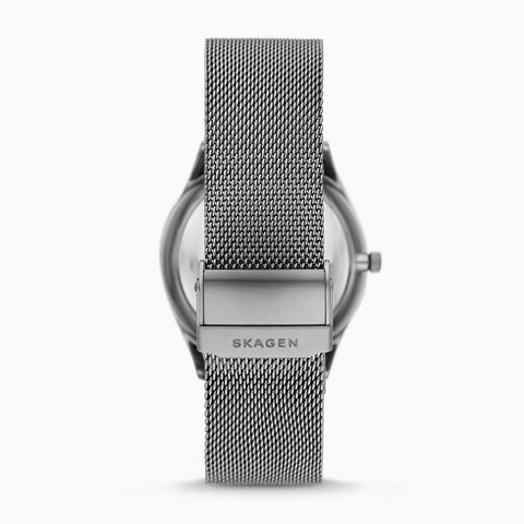 Holst Automatic Gunmetal Steel Mesh Watch