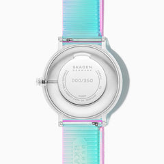 Aaren Iridescent Clear Three-Hand 41mm Watch