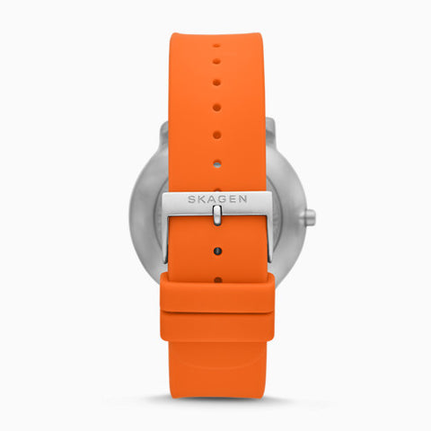 Colden Three Hand Orange Silicone Watch