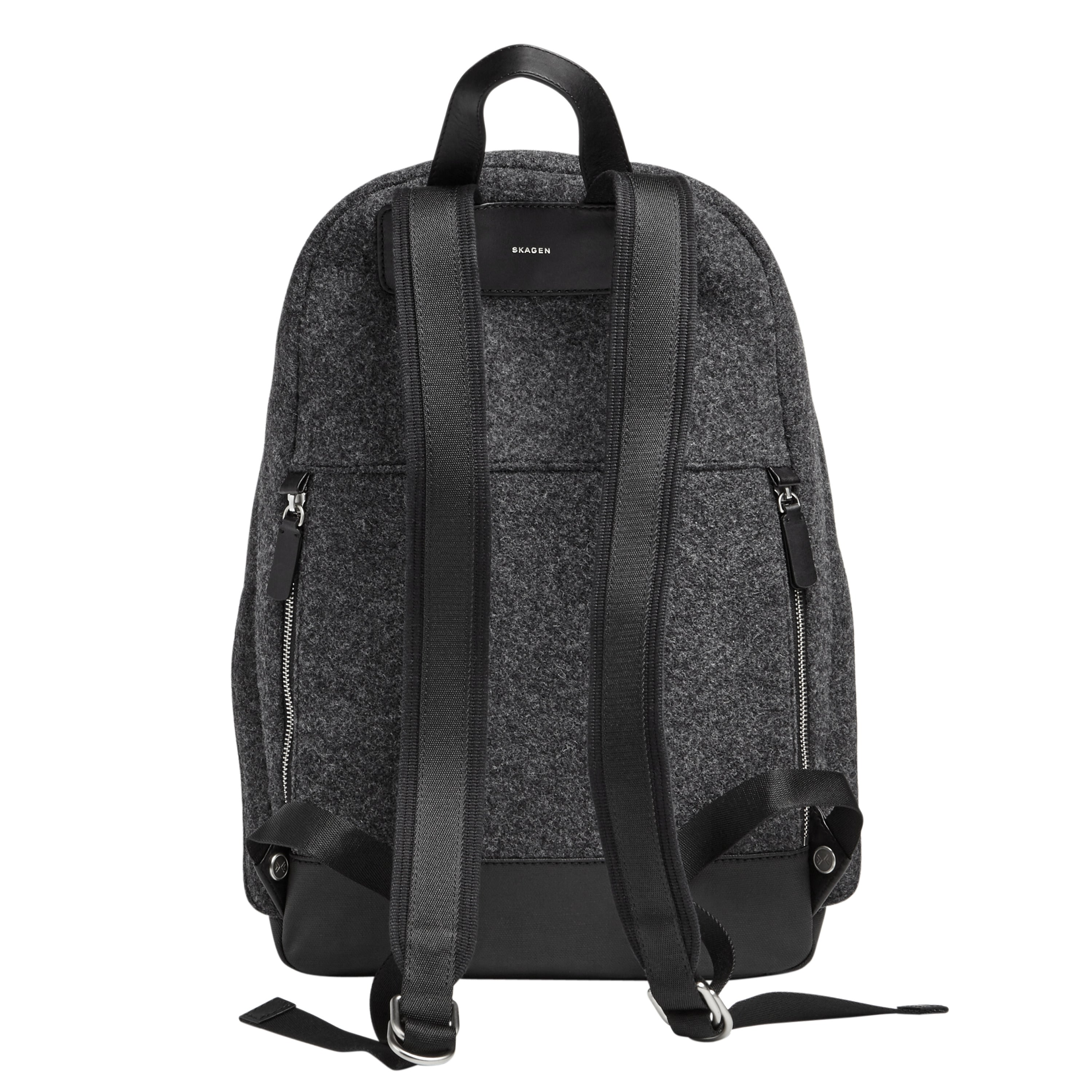 DARK HEATHER GREY BACKPACK