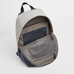 Kr?yer Twill and Leather Backpack