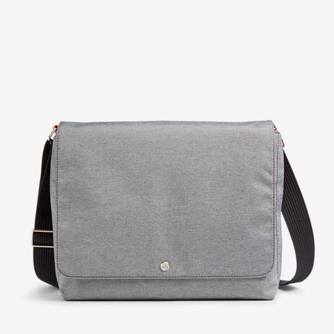 Eric Recycled Twill Messenger