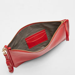 Anesa Leather Clutch