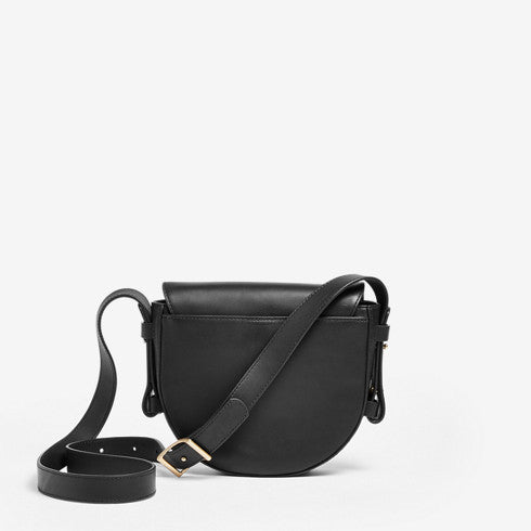 Lobelle Leather Saddle Bag