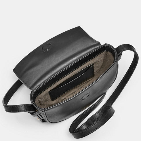 Lobelle Leather Mini Saddle Bag