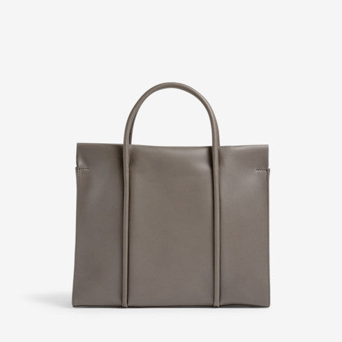 Katryn Recessed Zip Satchel