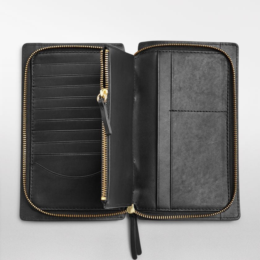 Ryle Leather Zip Wallet