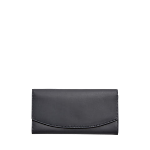 Dinesen Leather Flap Wallet
