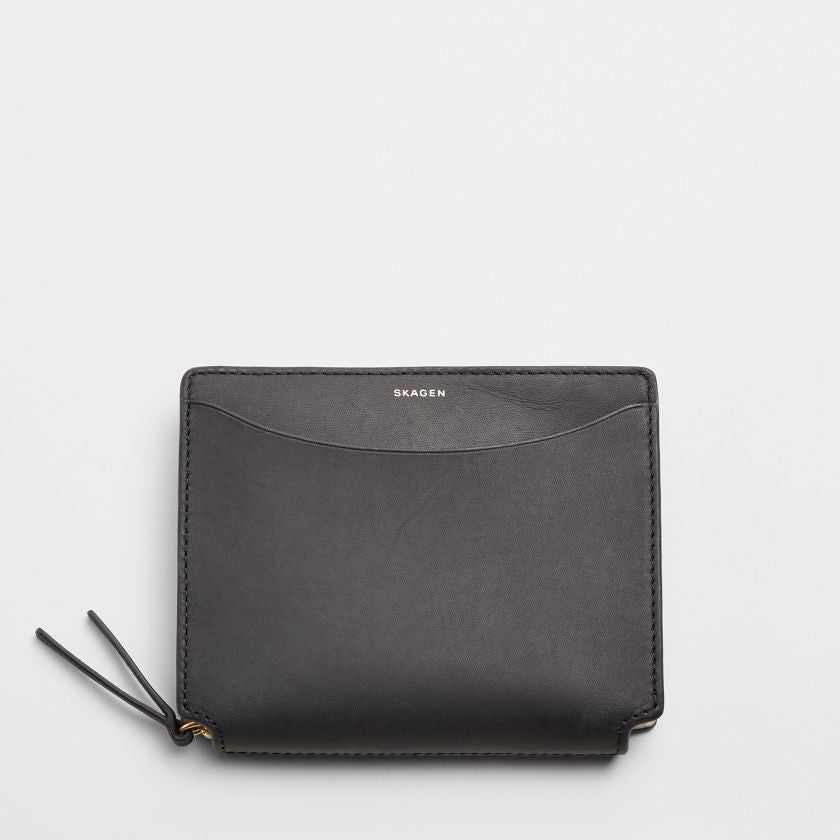 Medium Ryle Leather Zip Wallet