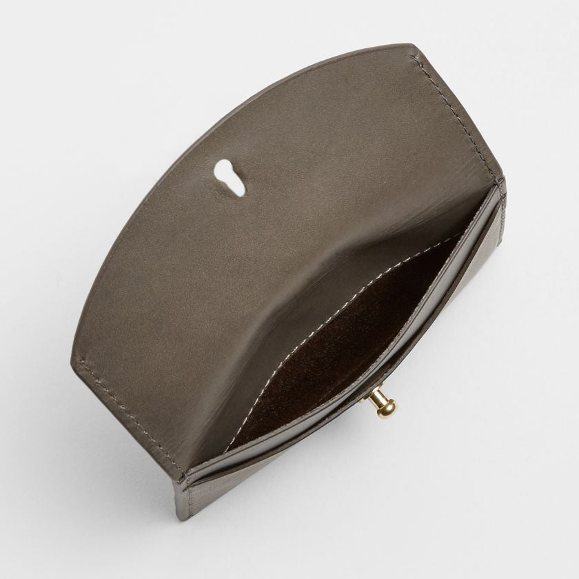 Leather Flap Card Case